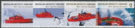 AAT SG285-8 RSV Aurora Australis 30 Years set of 4